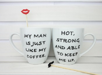 my man is just like my coffe